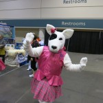 Dog Welcomed to the AKC/Eukanuba National Championship Dog Show