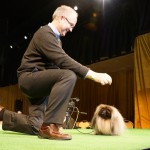 Malachy the Pekingese with David Fitzpatrick (Westminster Kennel Club Winner 2012)